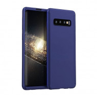 Husa 360 pentru Samsung S10 - Folie din PET - Bleumarin