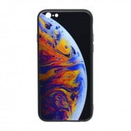 Husa Glass Case iPhone 7 Plus/ 8 Plus - model 1