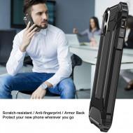Husa Hybrid Armor - iPhone 12 / 12 Pro - Black