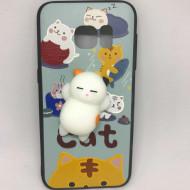Husa Jucarie Animal Squishy 4D Samsung S6