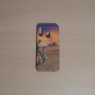 Husa Slim PC fosforescenta Samsung A40, Desert