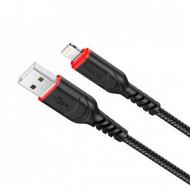 Cablu de date Hoco X59 lightning 1m negru