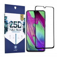 Folie Sticla Samsung A40 2.5D Full Glue Full - Negru