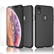 Husa 360 pentru iPhone XR - Negru