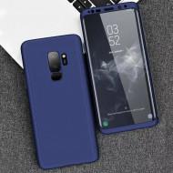 Husa 360 pentru Samsung S9 - Folie din PET - Bleumarin