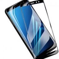 Sticla Securizata 5d Full Screen 2mm (full Glue) Samsung A7 2018, Black