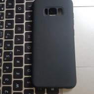 Husa Silicone Case pentru Samsung S8 - negru