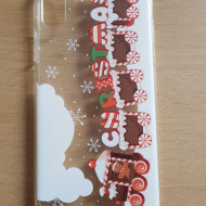 Husa Tech Christmas Printing Tpu Iphone X / XS, Christmas