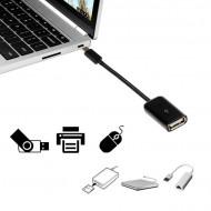 Cablu adaptor OTG USB-C USB 2.0