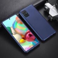 Husa 360 pentru Samsung S20 - Folie din PET - Bleumarin