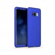 Husa 360 pentru Samsung S8 - Folie din PET - Bleumarin