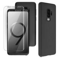 Husa 360 pentru Samsung S9 Plus - Folie din PET - Negru