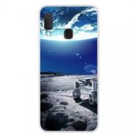 Husa Fusion Space Series Pattern Soft TPU Phone Cover Samsung A20e – Style Q