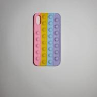 Husa Pop It! pentru iPhone X/ Xs, antisoc