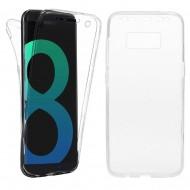 Husa silicon 360 fata + spate Samsung S8