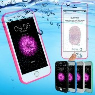 Husa silicon 360 Waterproof (inchidere etansa) iPhone 8 Plus - Negru