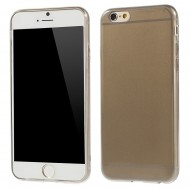 Husa silicon slim Iphone 6+ fumuriu