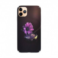 Husa Slim PC fosforescenta iPhone 11 Pro (5.8) Floare