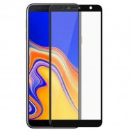 Sticla Securizata 5d Full Screen 2mm (full Glue) Samsung A7 2018, Black