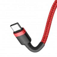 Cablu de date Baseus Type-C To Type-C 2.0 60W 3A QC3.0 1M - Rosu/Negru