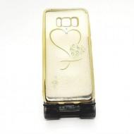 Husa beeyo heart Samsung s8 - Gold