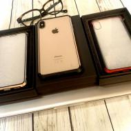 Husa bumper sticla fata spate iPhone X/XS