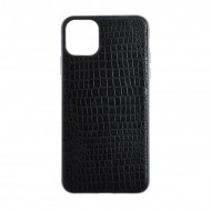 Husa Silicon Crocodile - iPhone X/XS, Negru