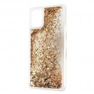 Liquid Sparkle TPU case for Samsung A42 5G Gold