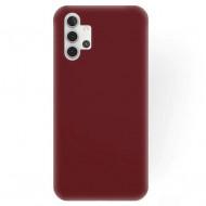 Matt TPU case for Samsung A32 5G Burgundy