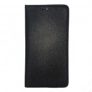 Husa carte panza Samsung A8 2018 / A530 - Negru