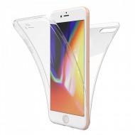 Husa silicon 360 fata + spate iPhone 7/8