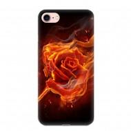 Husa silicon design matrita - pentru iPhone 7