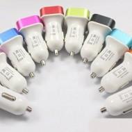 Incarcator auto USB (3USB) 1A+2A+2.1A - Negru
