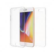 Husa 360 grade - iphone 7+/8+, transparenta