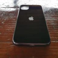 Husa Glass Logo Iphone 11 Pro Max, Black