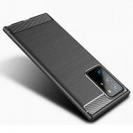Husa Samsung Galaxy Note 20 Ultra 5G TPU Carbon - Negru