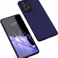 Matt TPU case for Samsung Galaxy A52 4G / A52 5G dark blue