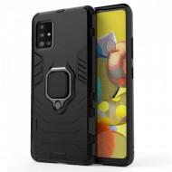 Techsuit - Silicone Shield - Samsung Galaxy A71 - Black