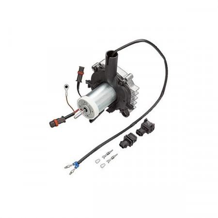 Motoras ventilator cu elice si capac aer