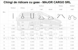 CHINGI DE RIDICARE CU GASE(URECHI) - 6 tone