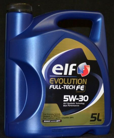 Ulei motor Elf Evolution Fulltech FE - 5W30