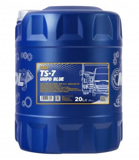 MANNOL TS-7 UHPD BLUE 10W-40- 20L