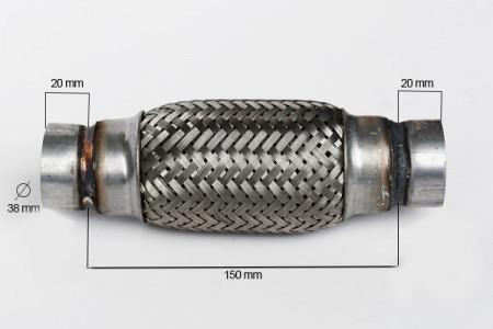 RACORD FLEXIBIL INNER & OUTER 38X150 MM