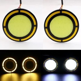 Lumini de zi cu semnalizare LED COB