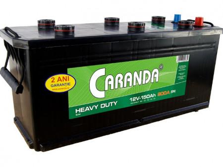 Acumulator ingust CARANDA Heavy Duty - 150 Ah(513x189x223)