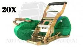 Pachet 20 chingi 5 tone - 12 metri - 500 daN + 40 Coltare Model 2 + Livrare Gratuita imágenes