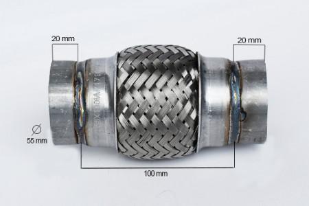 RACORD FLEXIBIL OUTERBRAID 55X100 MM