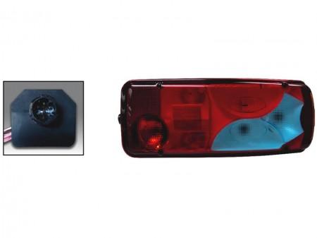 Lampa spate MAN - 7 compartimente - dreapta - cu mufa 7 pini