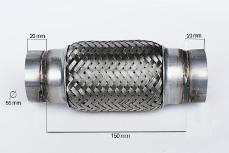 RACORD FLEXIBIL OUTERBRAID 55X150 MM
