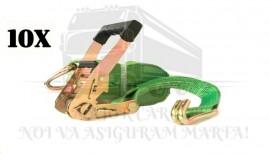 Pachet 10 Chingi ancorare 5 tone (Model Confort) - lungime 8 metri - STF 350 daN